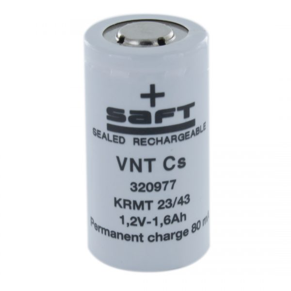 Saft VNTCSU1.65 Sub C High Temp Rechargeable Battery