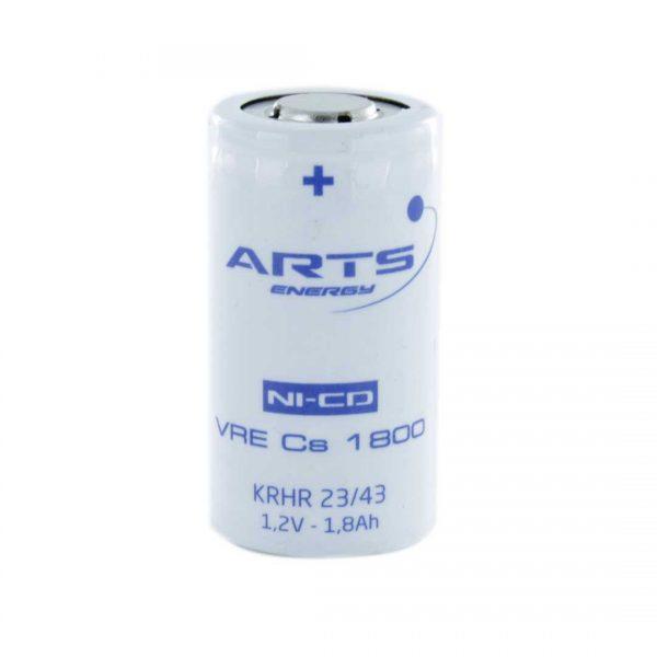 Saft VRECS1800 Sub C Rechargeable Battery