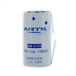 Saft VRECS1800/T Sub C Rechargeable Tagged Battery