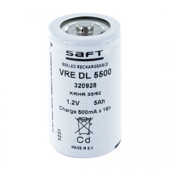 Saft VREDL5500 D Rechargeable Battery