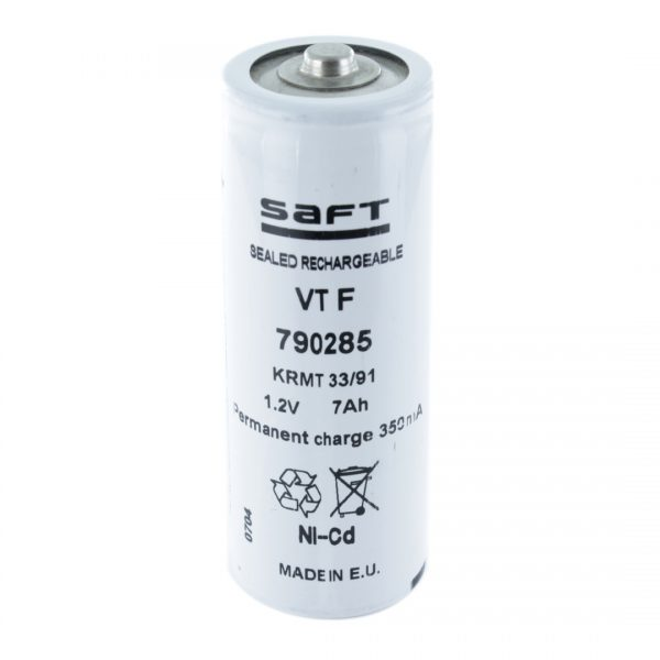 Saft VT7F F Rechargeable Battery (High Temperature)