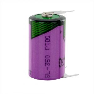 Tadiran Lithium SL350/PT 1/2 AA Tagged Battery (Polarised Pins)