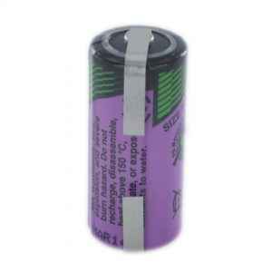 Tadiran Lithium SL361/T 2/3 AA Tagged Battery