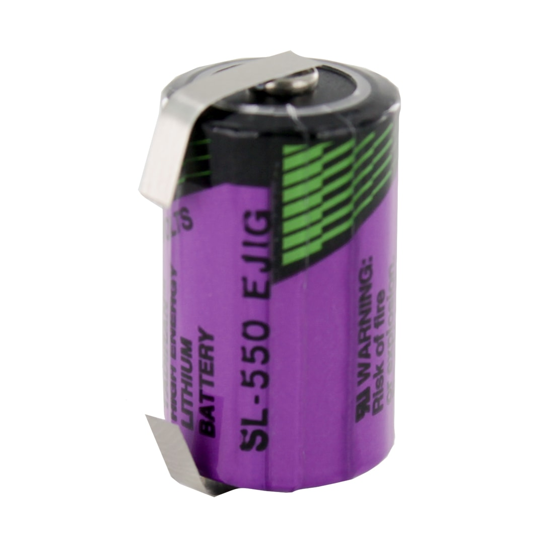 Tadiran Lithium SL550/T 1/2 AA Tagged Battery