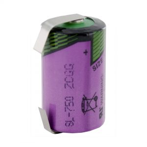 Tadiran Lithium SL750/T 1/2 AA Tagged Battery
