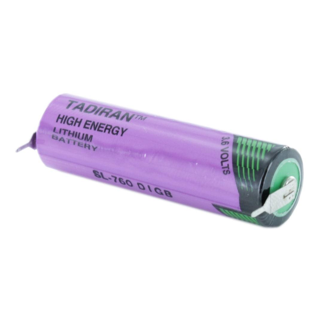 Tadiran Lithium SL760/PR AA Tagged Battery (Radial Pins)