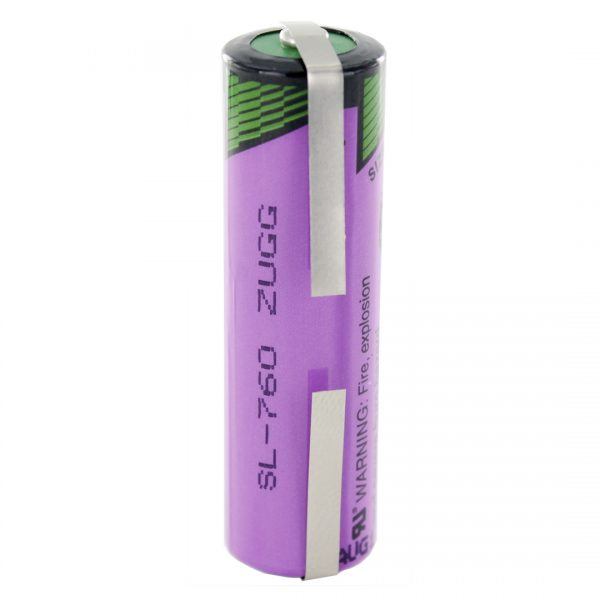 Tadiran Lithium SL760/T AA Tagged Battery