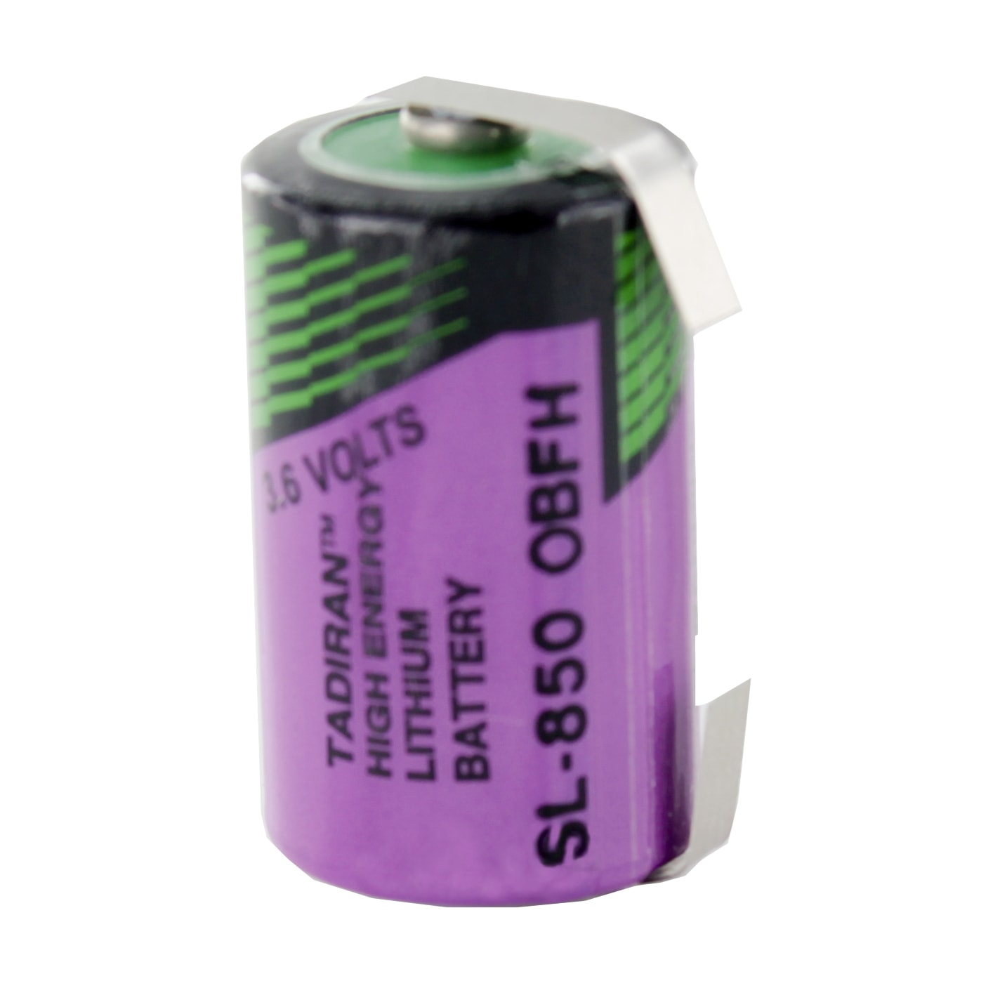 Tadiran Lithium SL850/T 1/2 AA Tagged Battery - Cell Pack