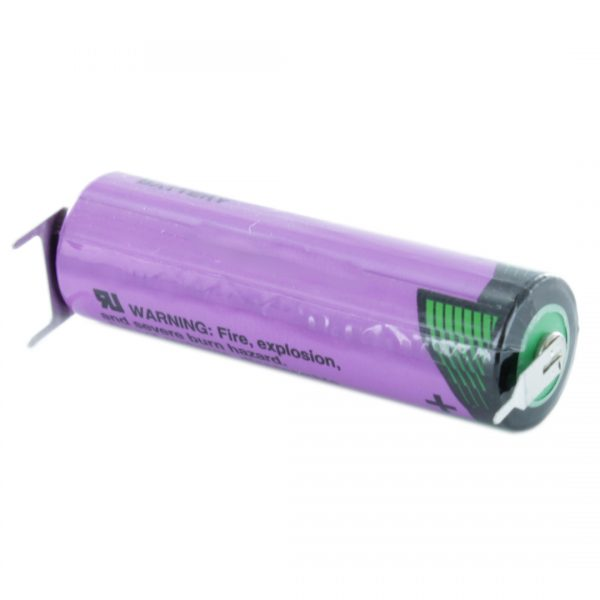 Tadiran Lithium SL860/PT AA Tagged Battery (Polarised Pins)