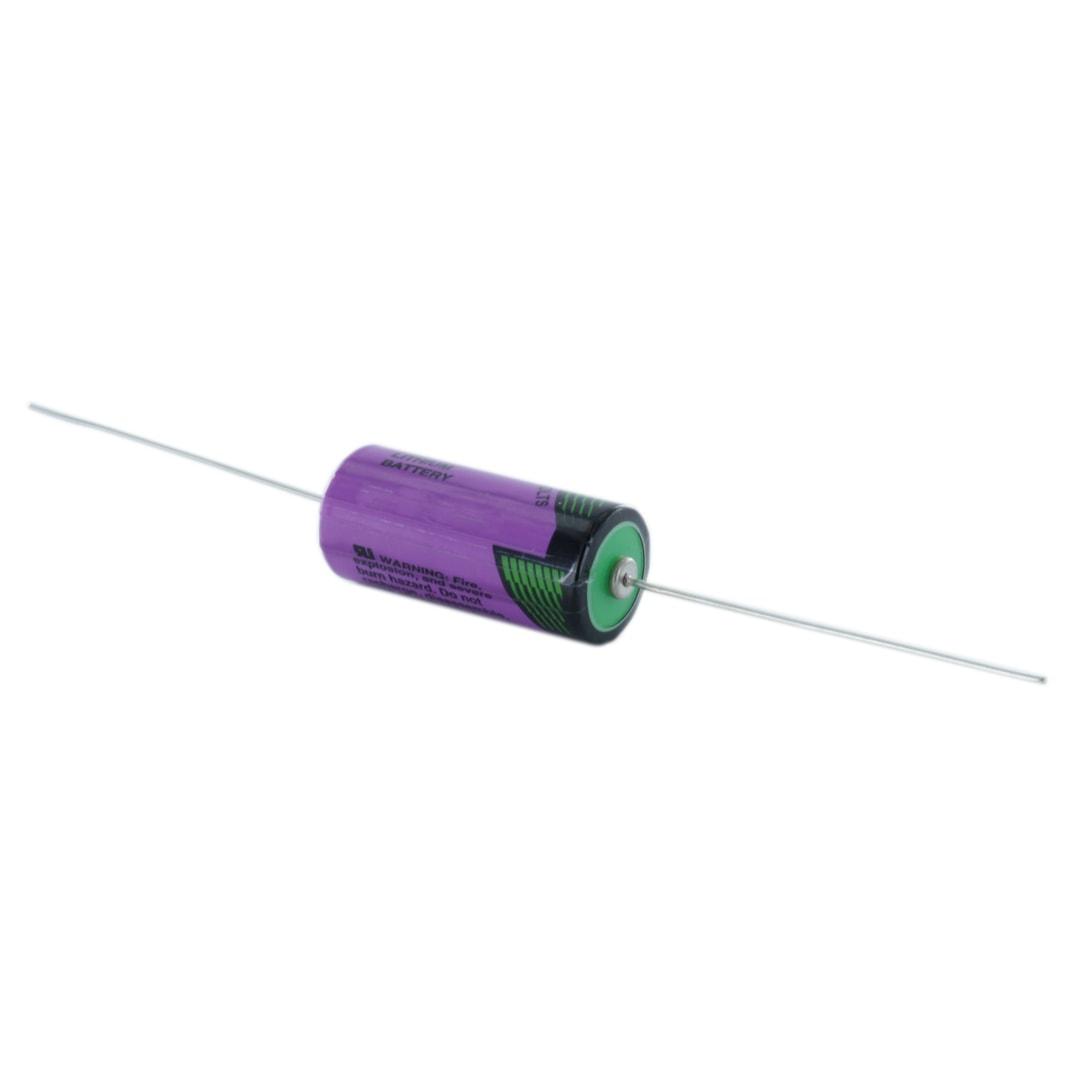 Tadiran Lithium SL861/P 2/3 AA Tagged Battery (Axial Pins)