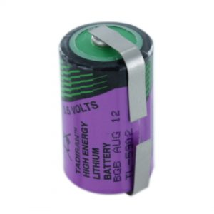Tadiran Lithium TL5902/T 1/2 AA Tagged Battery