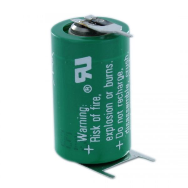VARTA CR1/2AA-SLF 1/2 AA Lithium Tagged Battery (Polarised Pins)