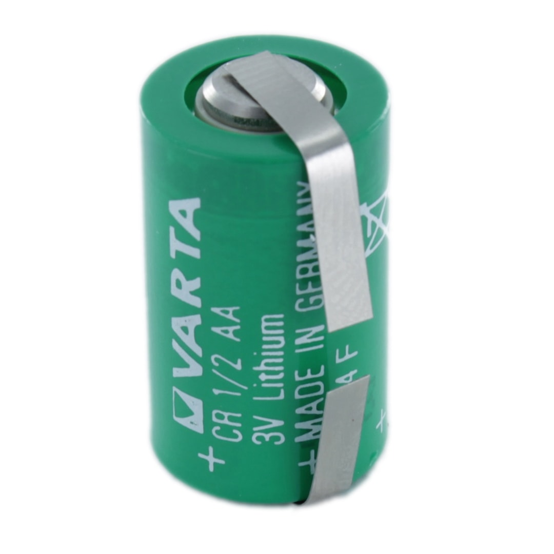 varta cr1 2aa t 1 2 aa lithium tagged battery cell pack. Black Bedroom Furniture Sets. Home Design Ideas