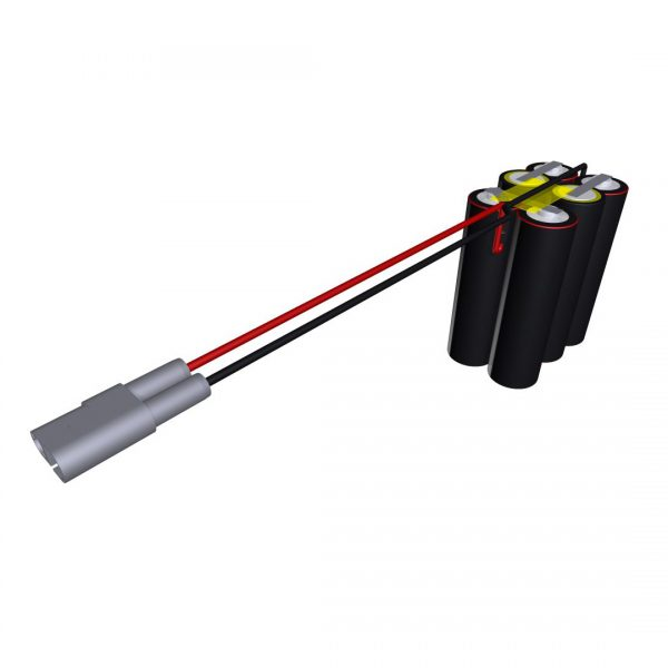Cell Pack Solutions Alarm (CPS628/1) Battery (Longer Lead Version)