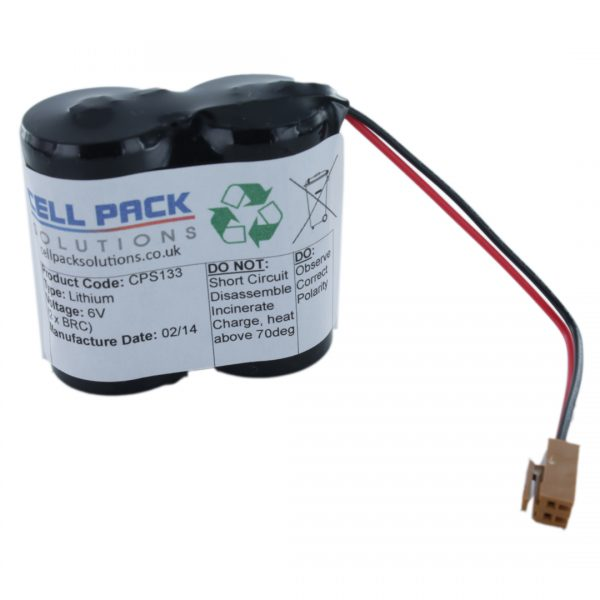 Cell Pack Solutions Replacement PLC Machine (CPS133) Battery