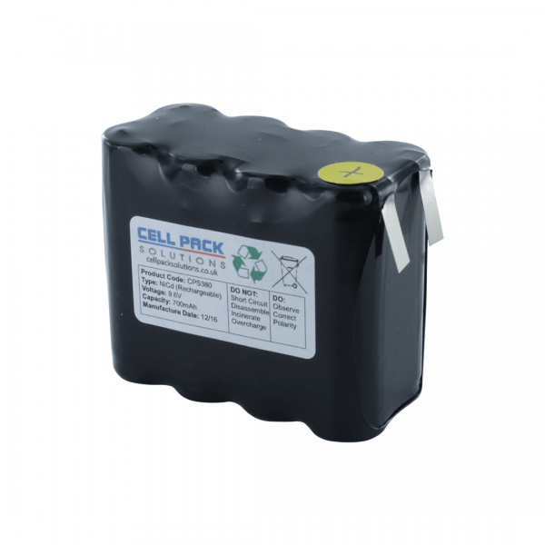 Cell Pack Solutions Replacement PMR Radio (CPS380) Battery