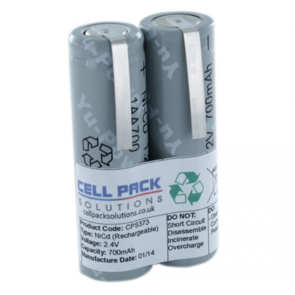 Cell Pack Solutions Replacement Shaver (CPS373) Battery