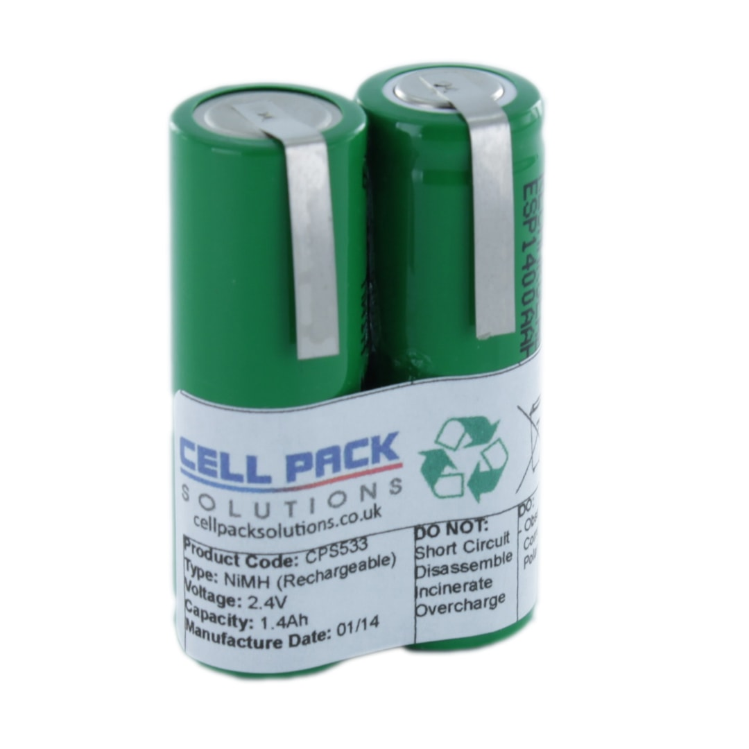 Cell Pack Solutions Replacement Shaver (CPS533) Battery