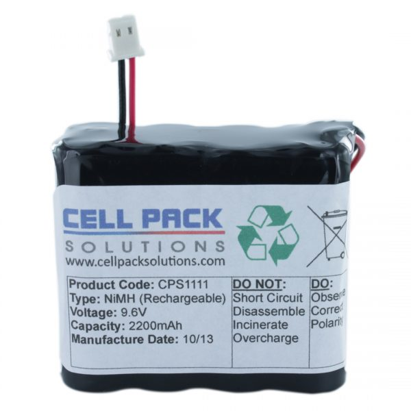 Cell Pack Solutions Yale HSA6300 Alarm Control Panel (CPS1111) Battery