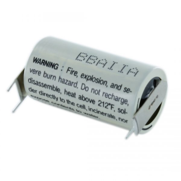 FDK Lithium CR17335SE-C13 2/3 A Tagged Battery (Polarised Pins)