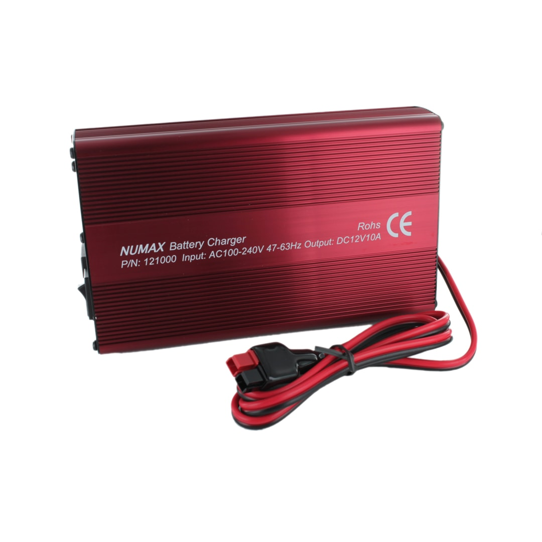 Numax 12v 10a 121000 Sealed Lead Acid Battery Charger on lead acid battery charger voltage