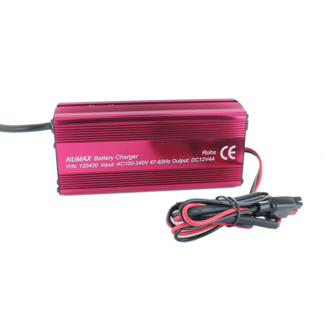 NUMAX 12V 4A (120400) Sealed Lead Acid Battery Charger