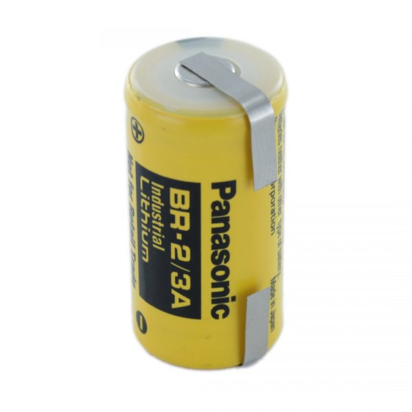 Panasonic BR-2/3A/T 2/3 A Lithium Tagged Battery