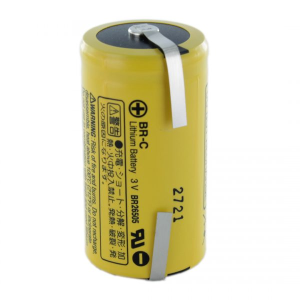 Panasonic BR-C/T C Lithium Tagged Battery