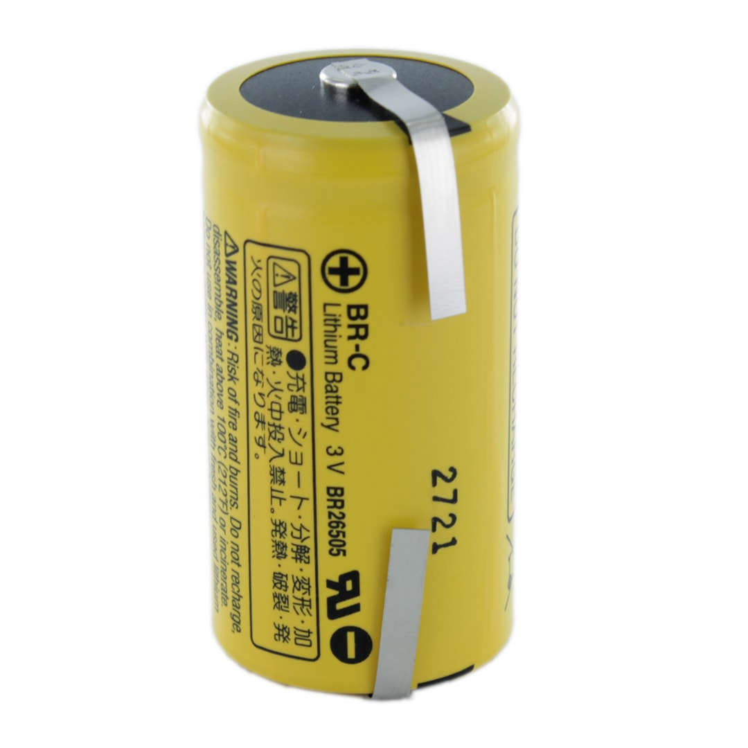 Panasonic Br C T C Lithium Tagged Battery Cell Pack