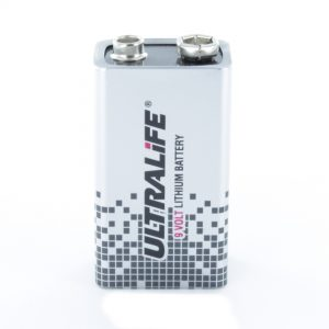 Ultralife 9 Volt Lithium PP3 (9V) Battery (U9VL-JP)