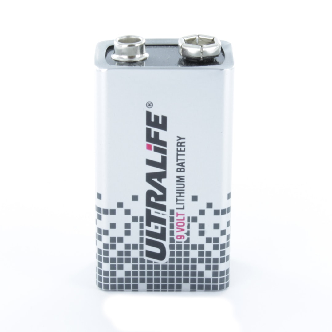 ultralife 9 volt lithium pp3 9v battery u9vl jp cell pack solutions. Black Bedroom Furniture Sets. Home Design Ideas