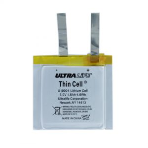 Ultralife Thin Cell 3V (U10004) Lithium Cell