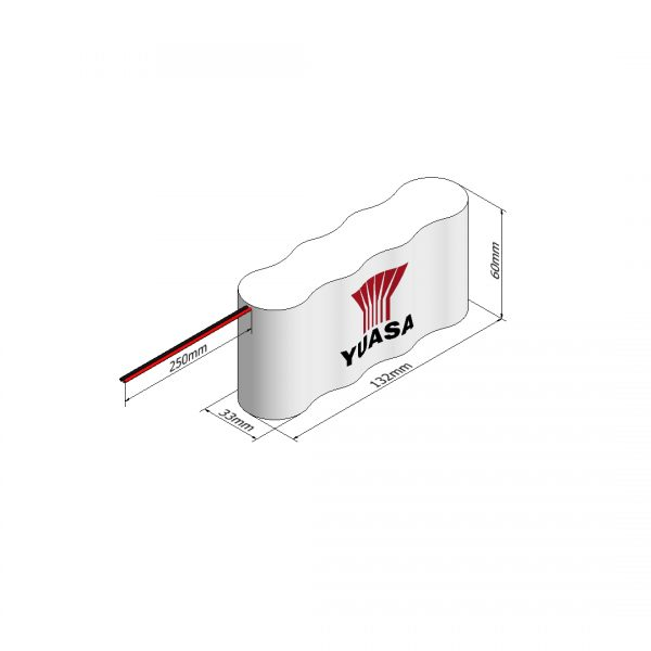 Yuasa 4DH4-0L3 Rechargeable Emergency Lighting Battery Pack