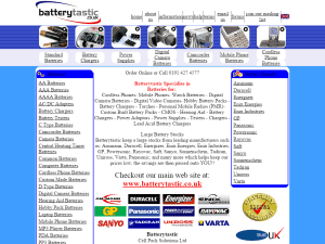 Batterytastic (.co.uk) 2006
