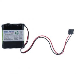 Cell Pack Solutions (CPS1639) 4.8V 800mAh NiMH Battery Pack (4C Format)