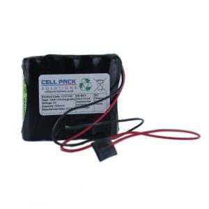 Cell Pack Solutions (CPS1640) 6V 800mAh NiMH Battery Pack (5C Format)