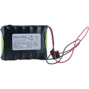 Cell Pack Solutions (CPS1641) 7.2V 800mAh NiMH Battery Pack (6C Format)