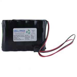 Cell Pack Solutions (CPS1643) 6V 2.2Ah NiMH Battery Pack (5C Format)