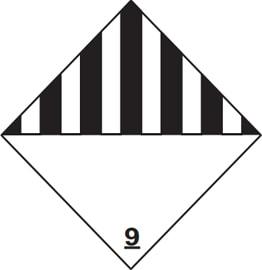 Class 9 Hazardous Label