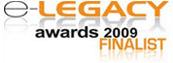 e-Legacy Awards 2009 Finalist Logo