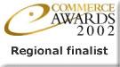 Ecommerce Awards 2002 Regional Finalist Logo