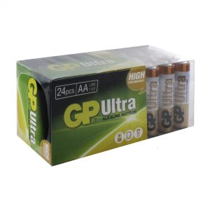 GP Batteries Ultra Alkaline 24 x AA Batteries