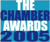 The Chamber Awards 2005 Logo