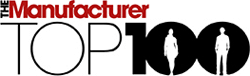 The Manufacturer Top 100 Logo
