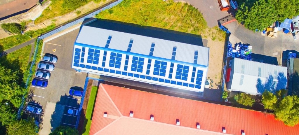 Solar Powered Battery Factory 2