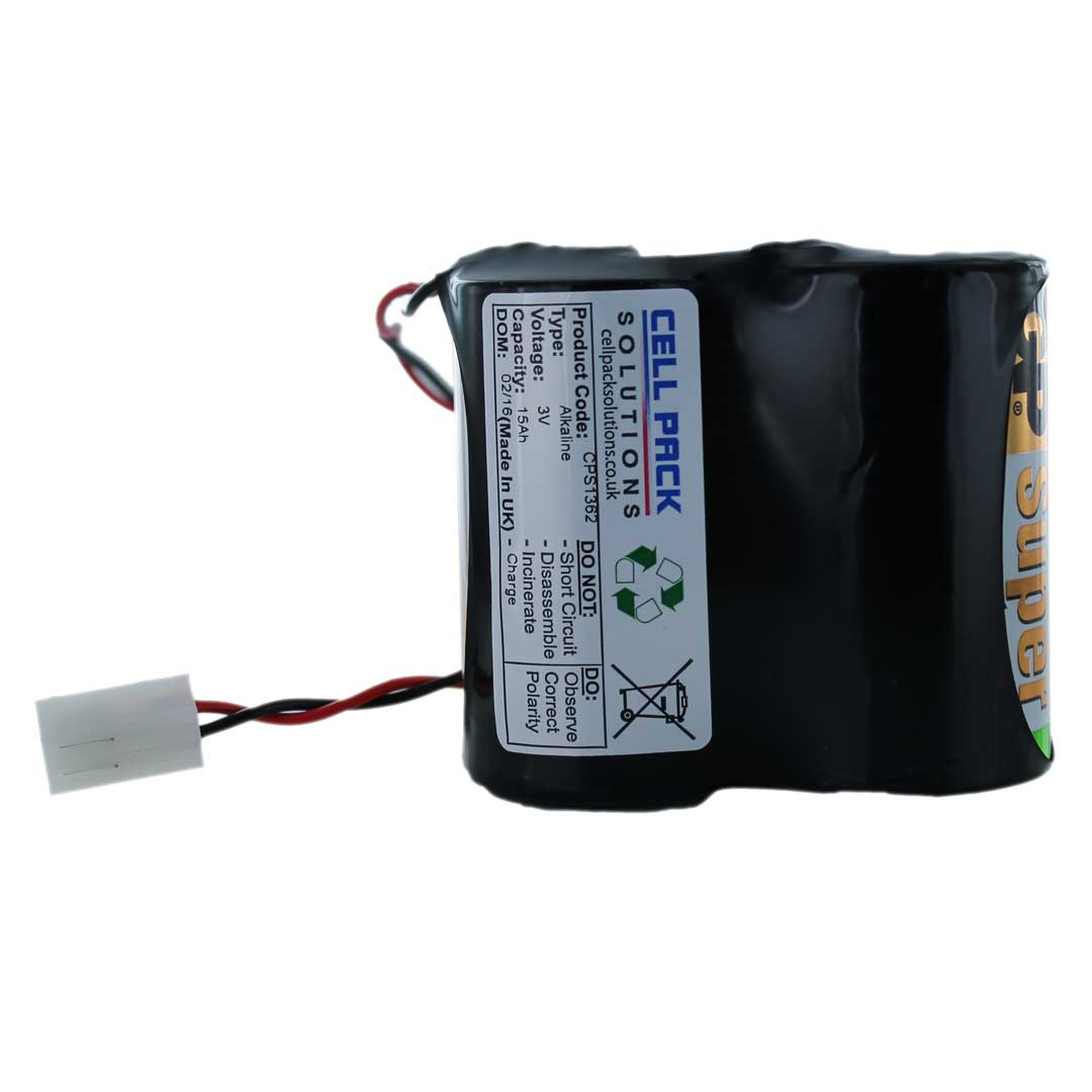 Battery for alarm system 44