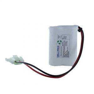 Saft 2/VHT7/5CS Rechargeable Emergency Lighting Battery Pack