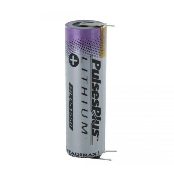 Tadiran Lithium 1550A (3.9V) Tagged HLC (Polarised Pins)