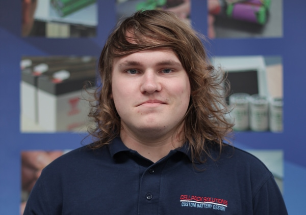 Callum 6 Years at Cell Pack Solutions
