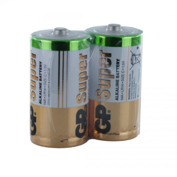 GP Batteries Super Alkaline C (GP14A) x 2 Battery